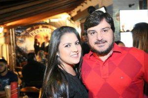 hiago Rodrigues e Gisele Luana