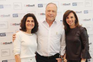 Claudia Togni , Romeu Patriani e Solange Calio os arquitetos da Mostra Georgina