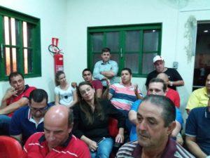 Foto:Débora Kutinacamiti - Grupo que definiu a reeleição de Jura