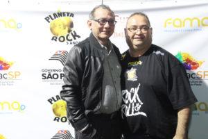 O representante do Proac Luiz Avelima e Andre Facchineti