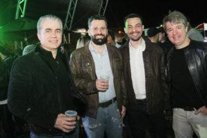 Santo Chiesa , Andre Pequini , Laudemir Brito e Junior Villanova