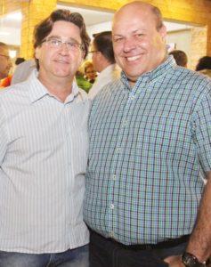 Quin Tavares foi cumprimentar o amigo Angelo Possebon Jr pela nova aquisiçaõ