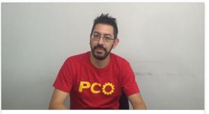 Daniel Carvalho candidato a Prefeito pelo PCO