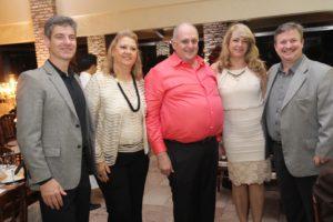 Ricardo Costa , Anete Schiavenato , Agdamar Affini e Sergio Cont