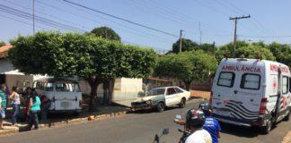 Acidente com Ambulancia - Jornal Bom Dia