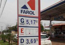 gasolina - jornal bom dia