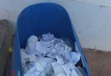 lixo - jornal bom dia