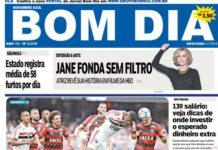 Capa Jornal - Jornal bom dia